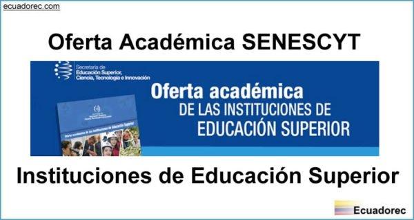 Oferta Académica SENESCYT