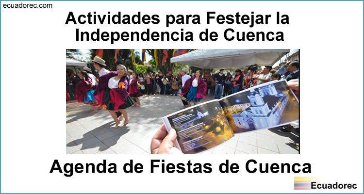Actividades por las Fiestas de Independencia Cuenca