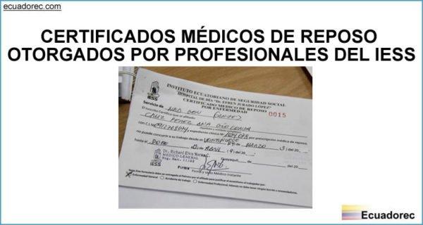 emisi u00f3n de certificados m u00e9dicos de reposo iess