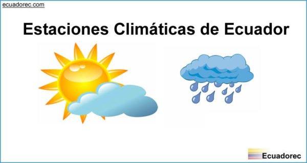 Cu les son las estaciones clim ticas del a o en ecuador - En que meses se cae mas el pelo ...