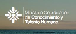 Ministerio Coordinador de Conocimiento y Talento Humano (www.conocimiento.gob.ec)