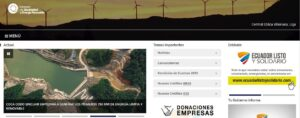 Ministerio de Electricidad y Energía Renovable (www.energia.gob.ec)