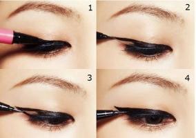 Practicas formas de delinear según tu forma de ojos.