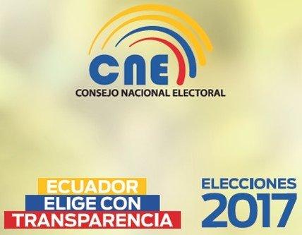 Elecciones presidenciales de Ecuador CNE 2017