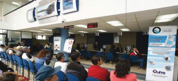 Dirección y Horario Centros Atención al Cliente EPMAPS-AGUA DE QUITO