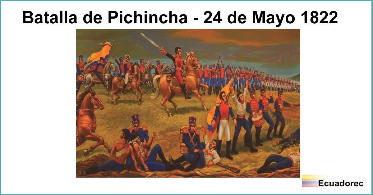 Resumen Batalla De Pichincha 24 De Mayo 1822