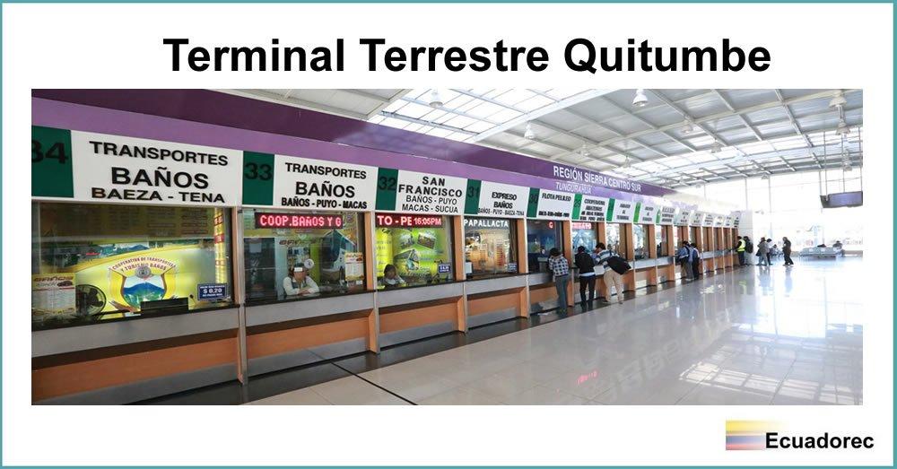▷ ¿Cómo llegar al Terminal Quitumbe? | Horarios de Buses
